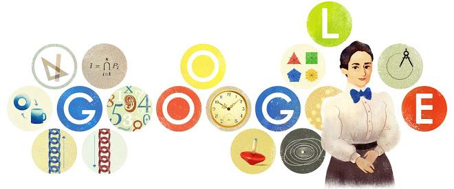 Google Doodle for Emmy Noether