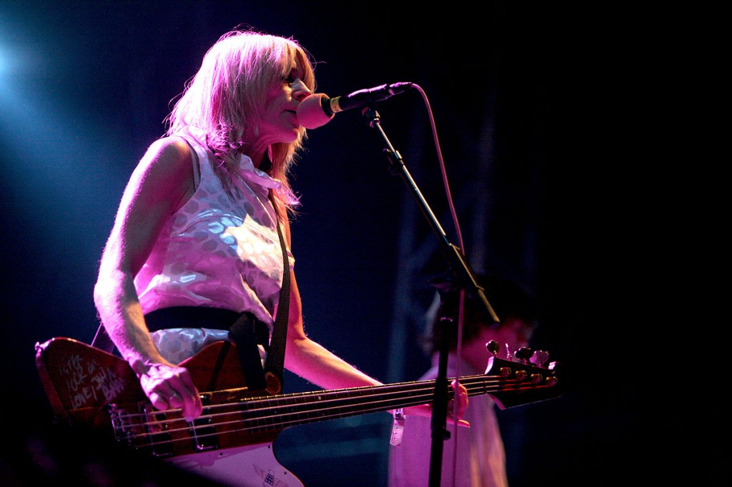 Photo of Kim Gordon by Bertrand from Paris. Licensed under CC BY 2.0 via Wikimedia Commons