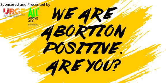 abortion positive tour landing webpage