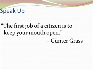 Gunter Grass Quote